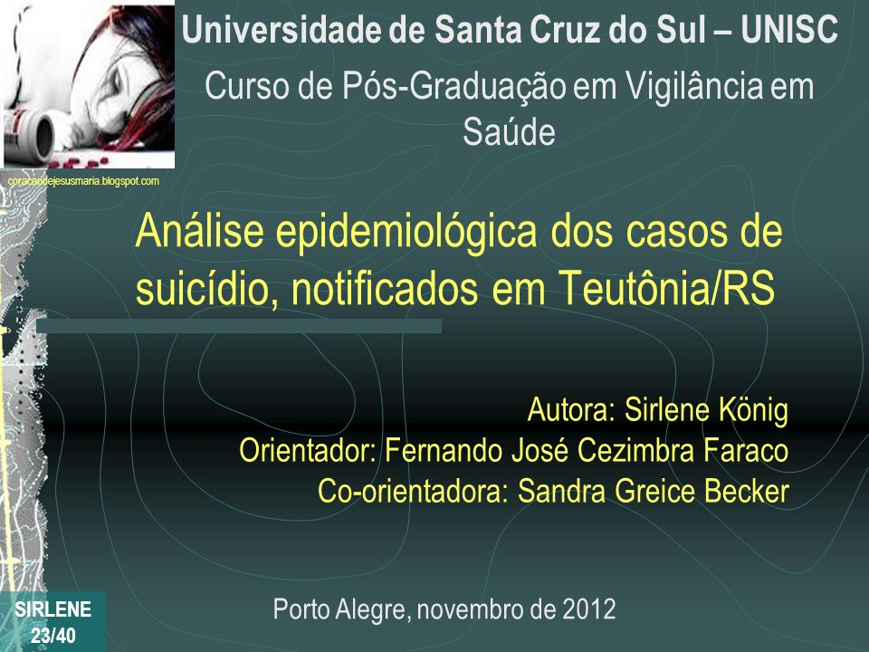 Universidade de Santa Cruz do Sul – UNISC
