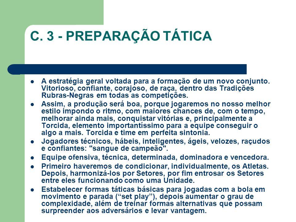 C. 3 - PREPARAÇÃO TÁTICA