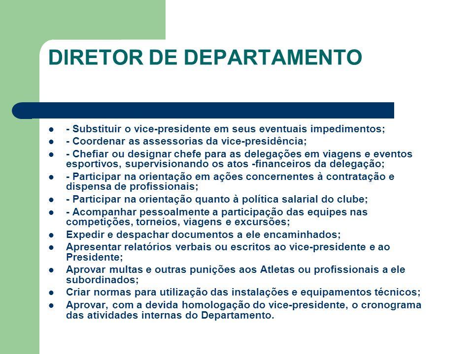 DIRETOR DE DEPARTAMENTO