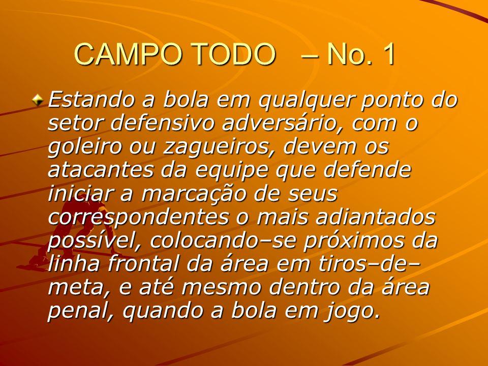 – No. 1 CAMPO TODO.