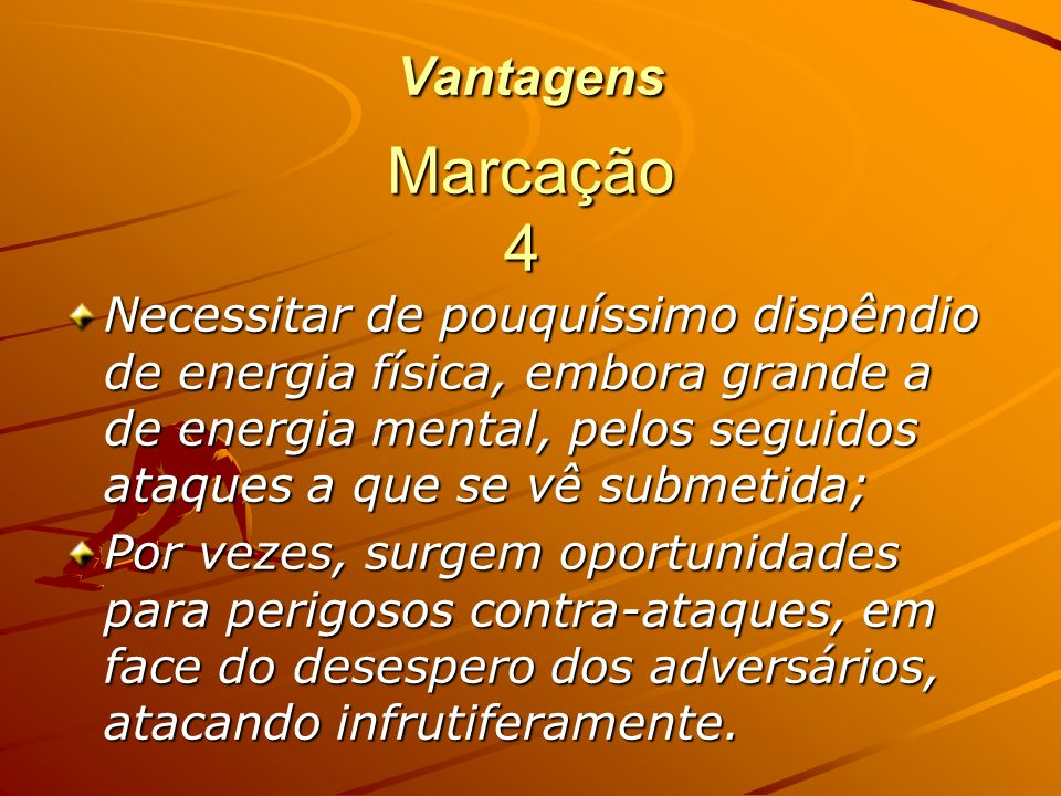 Vantagens Marcação 4.