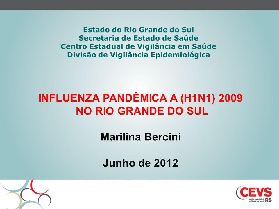 INFLUENZA PANDÊMICA A (H1N1) 2009