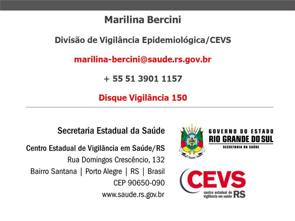 Divisão de Vigilância Epidemiológica/CEVS