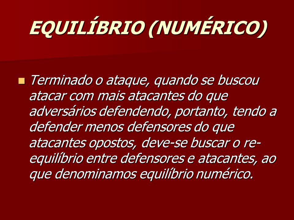 EQUILÍBRIO (NUMÉRICO)