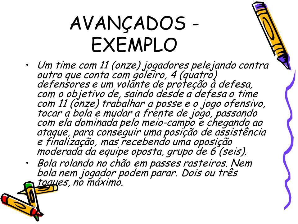 AVANÇADOS - EXEMPLO