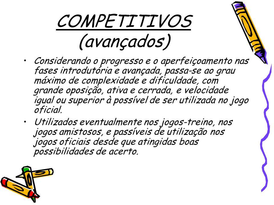 COMPETITIVOS (avançados)