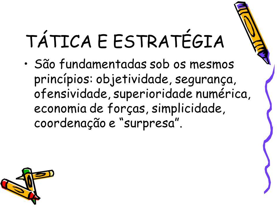 TÁTICA E ESTRATÉGIA