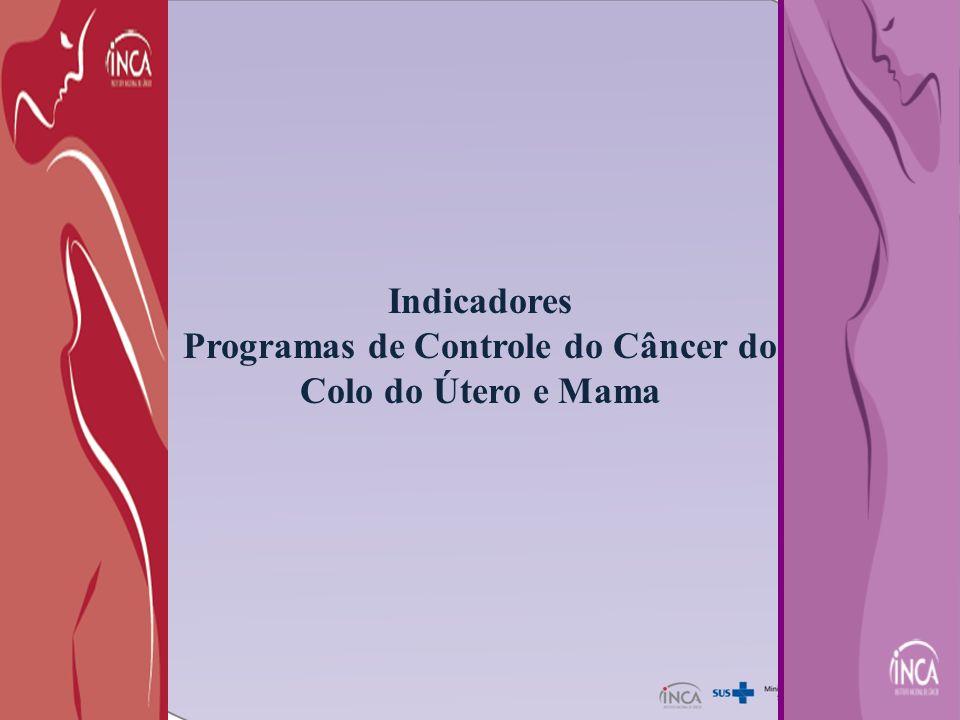 Programas de Controle do Câncer do Colo do Útero e Mama