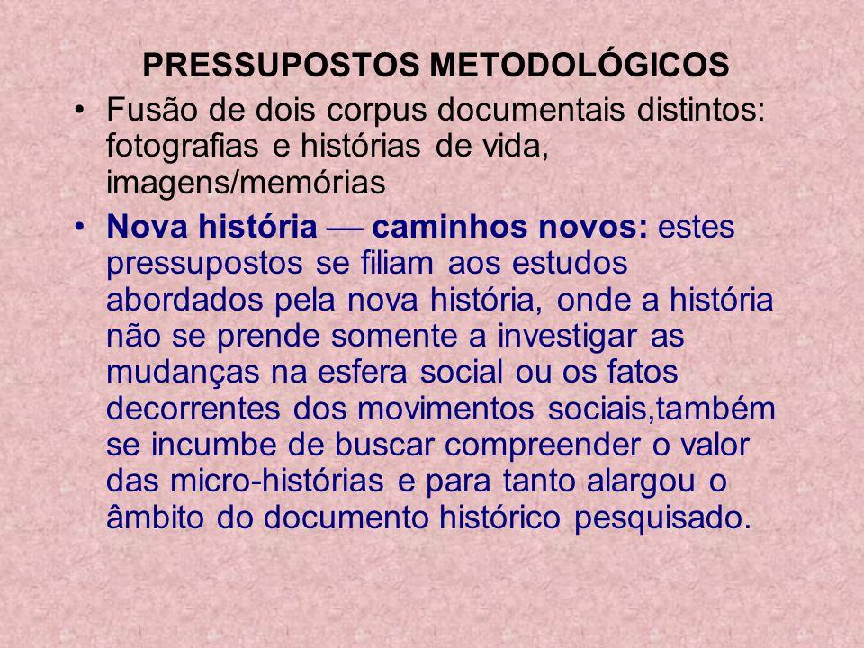 PRESSUPOSTOS METODOLÓGICOS