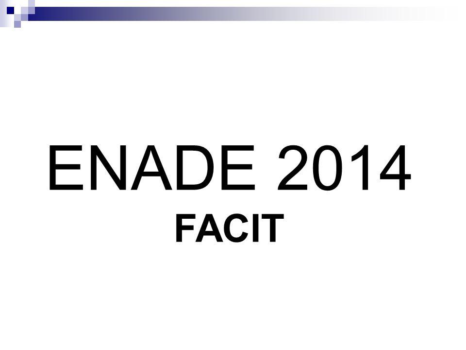 ENADE 2014 FACIT