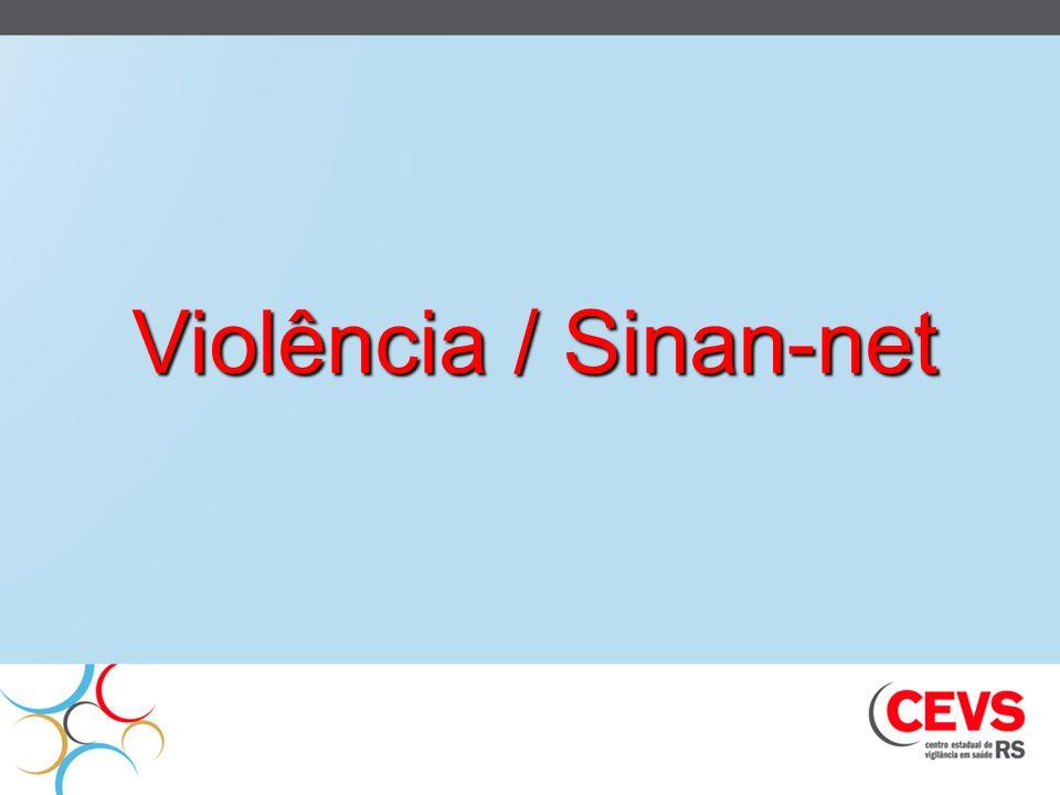 Violência / Sinan-net