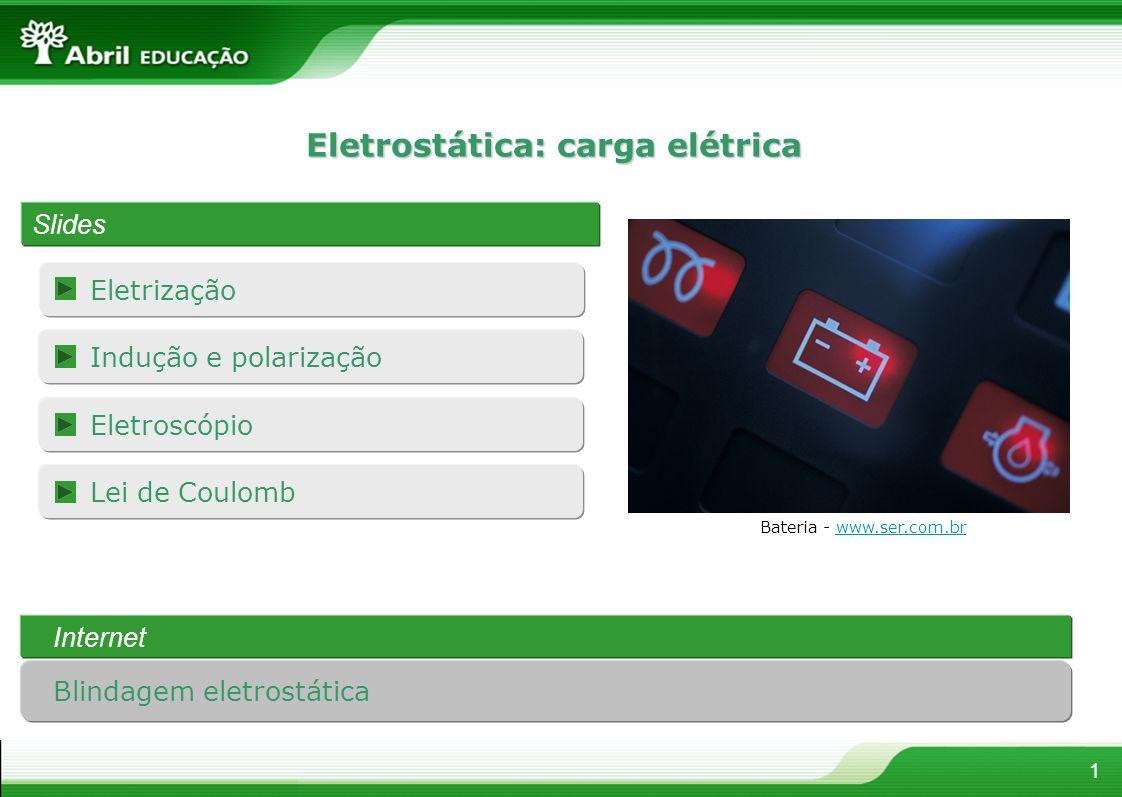 Eletrostática: carga elétrica