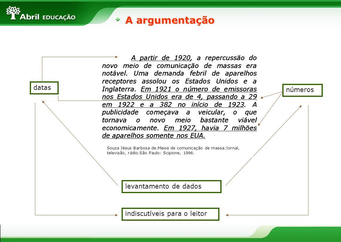 A argumentação