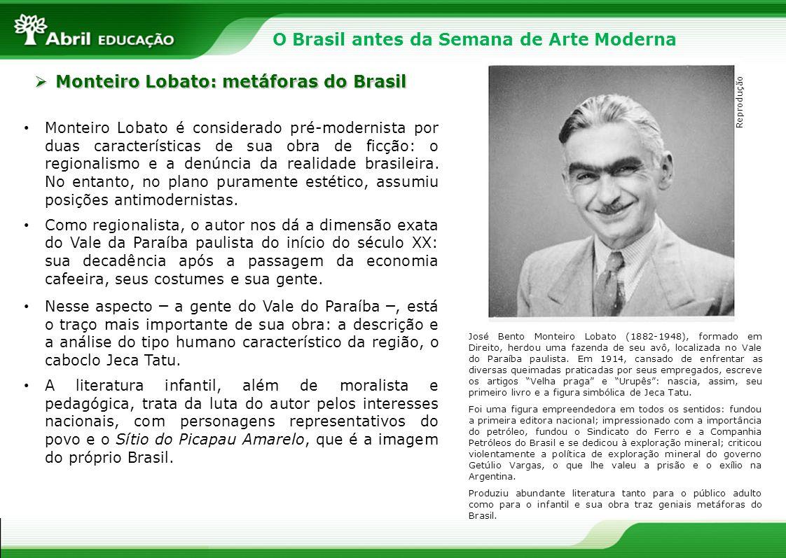 O Brasil antes da Semana de Arte Moderna