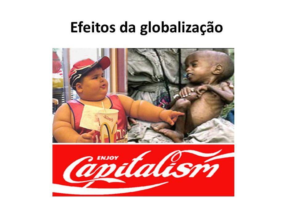 Efeitos da globalização