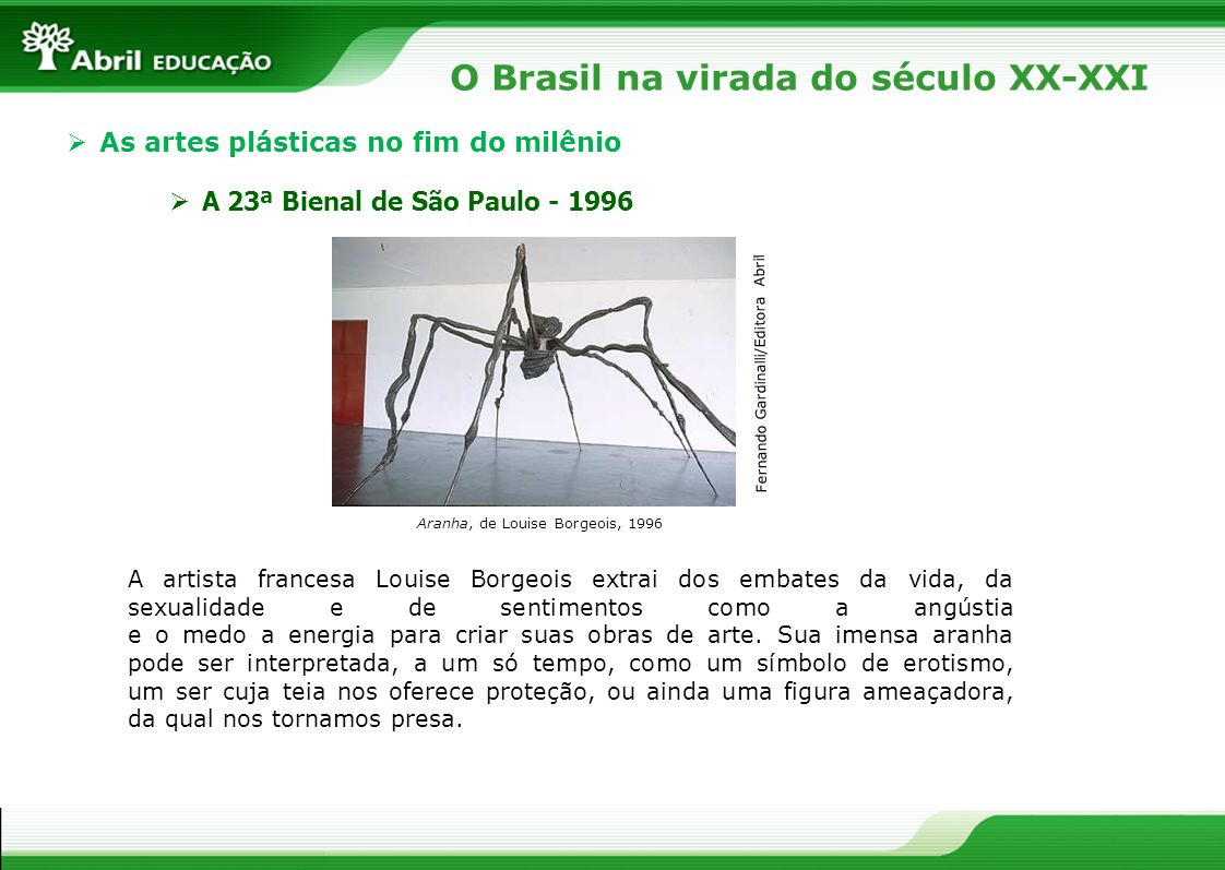 O Brasil na virada do século XX-XXI