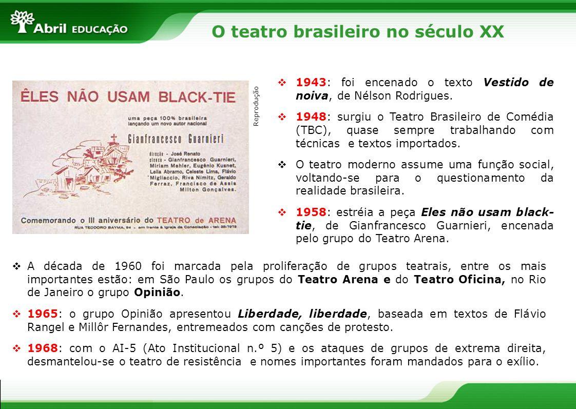 O teatro brasileiro no século XX