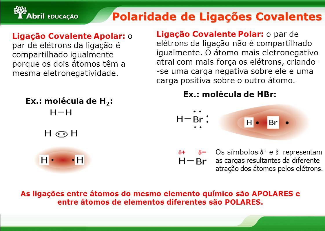 Polaridade de Ligações Covalentes