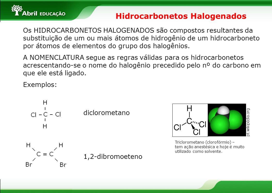 Hidrocarbonetos Halogenados