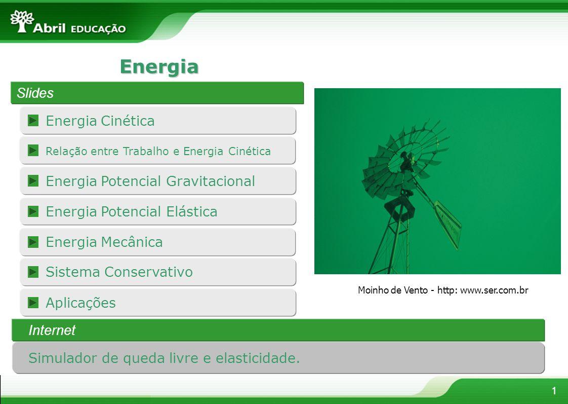 Energia Slides Energia Cinética