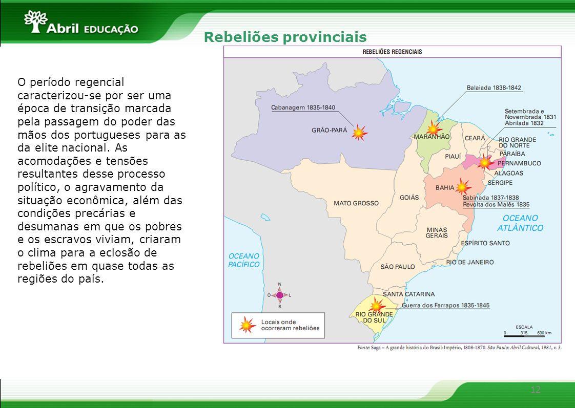 Rebeliões provinciais