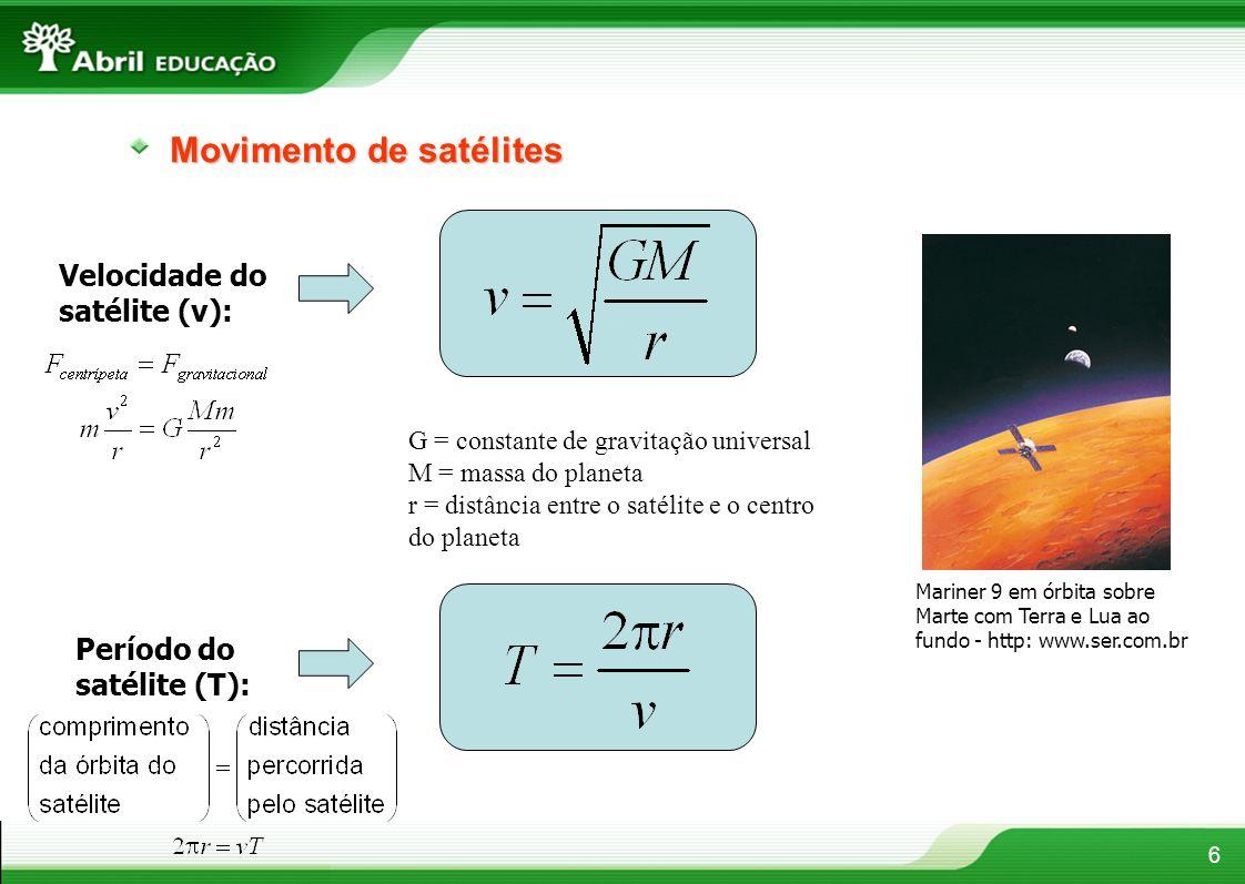 Movimento de satélites