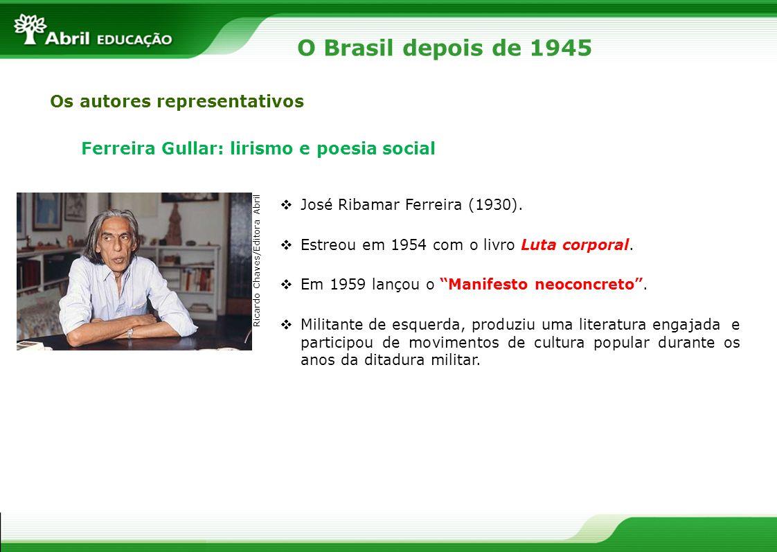 O Brasil depois de 1945 Os autores representativos