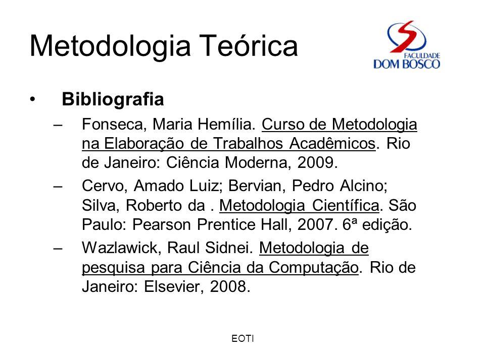 Metodologia Teórica Bibliografia