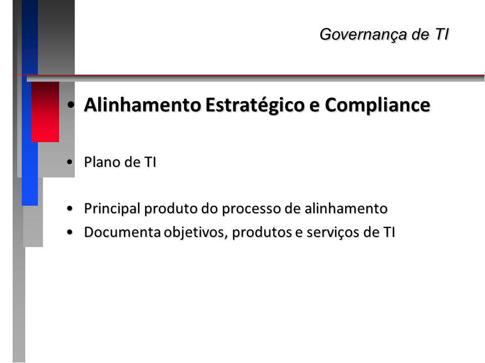 Governança de TI Alinhamento Estratégico e Compliance Plano de TI