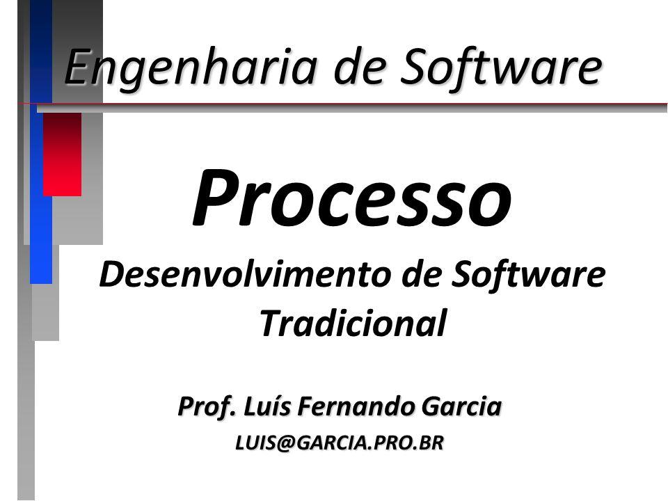 Processo Desenvolvimento de Software Tradicional