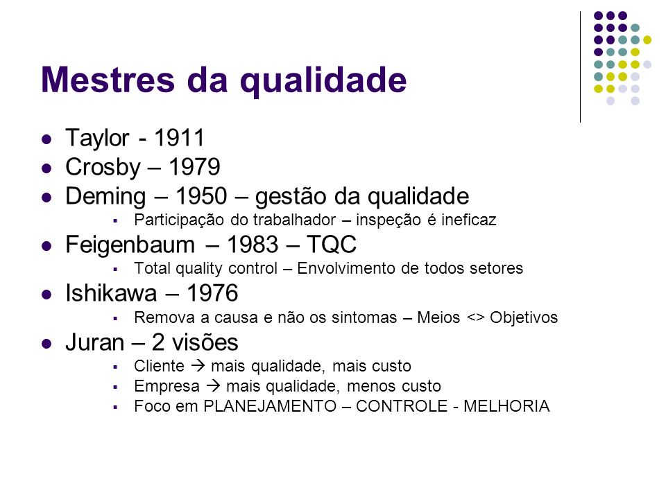 Mestres da qualidade Taylor - 1911 Crosby – 1979
