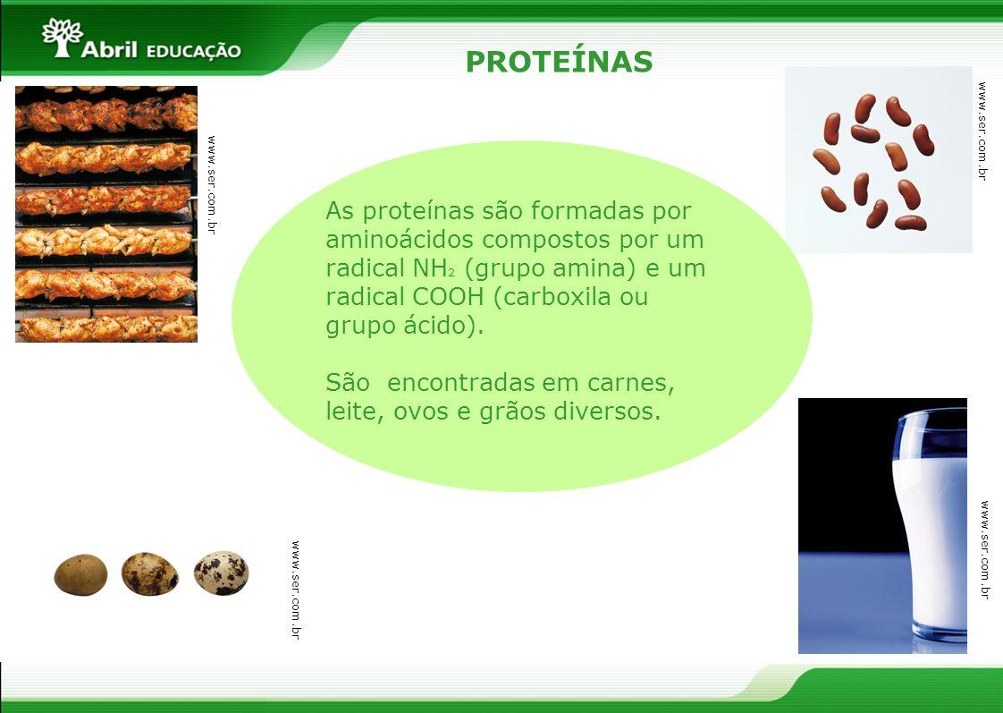 PROTEÍNASwww.ser.com.br.