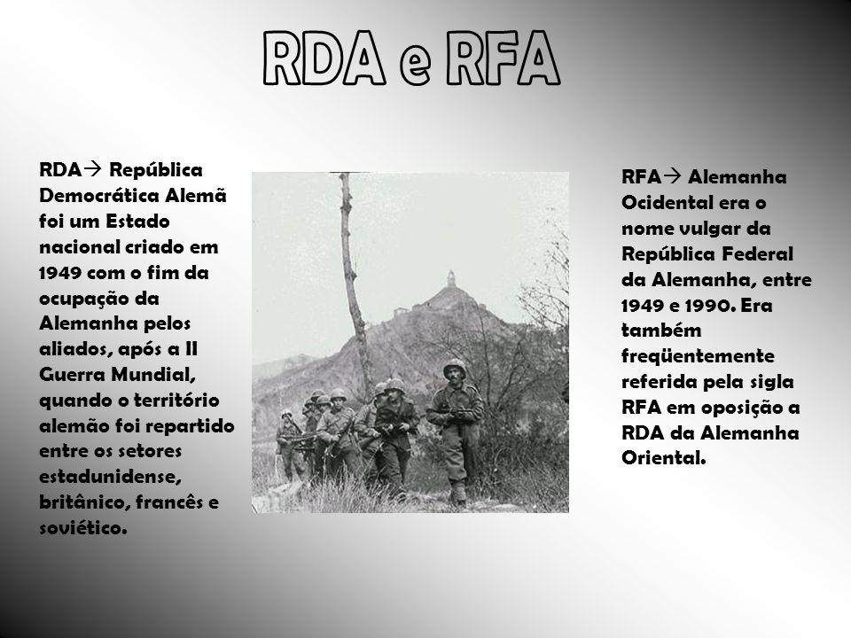 RDA e RFA