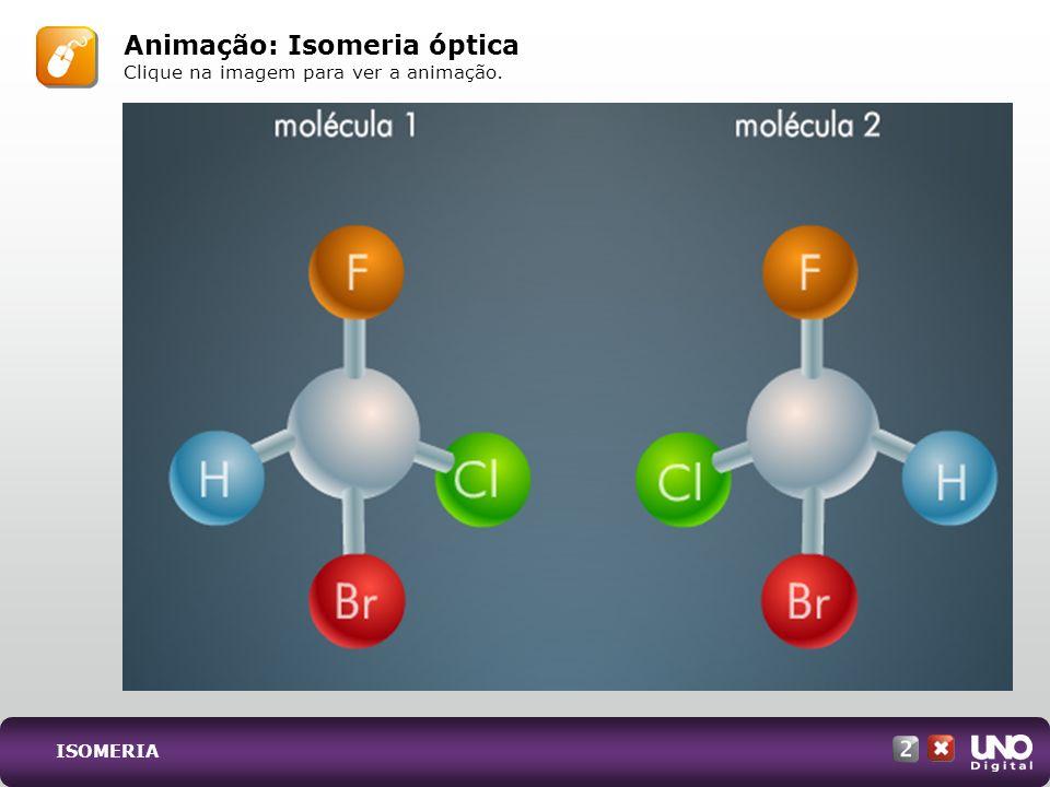 Animação: Isomeria óptica