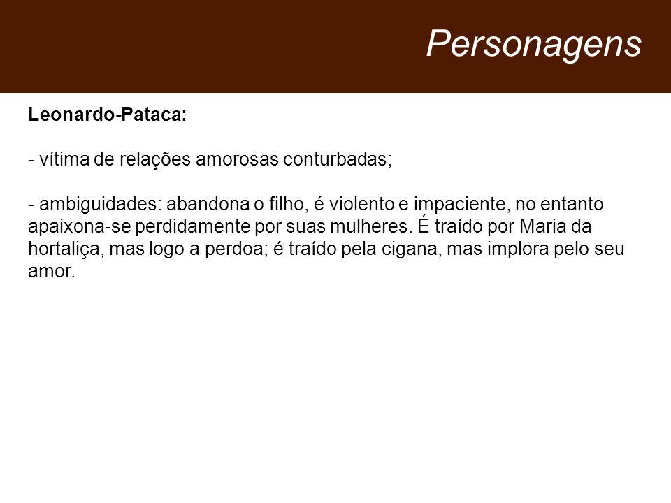 Personagens Leonardo-Pataca: