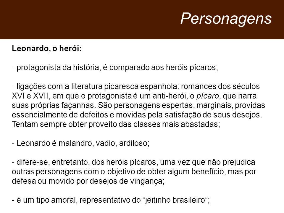 Personagens Leonardo, o herói: