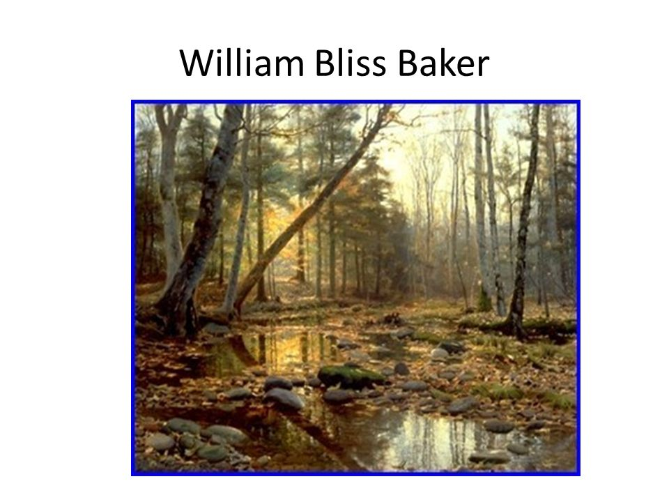 William Bliss Baker