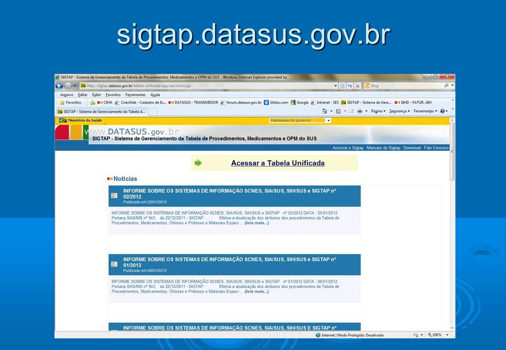 sigtap.datasus.gov.br