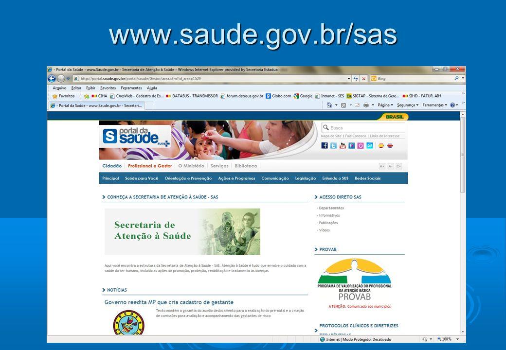www.saude.gov.br/sas