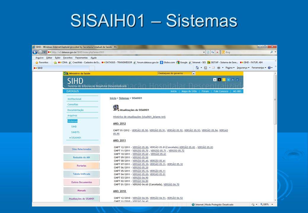 SISAIH01 – Sistemas