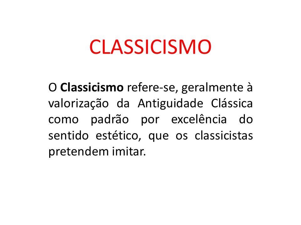 CLASSICISMO