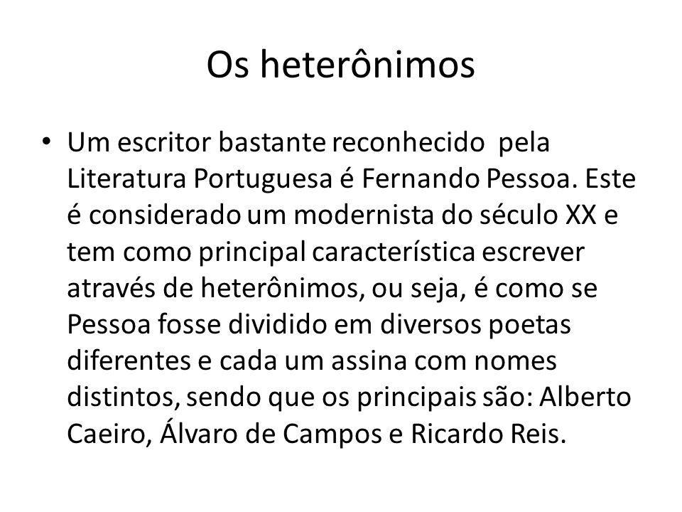 Os heterônimos