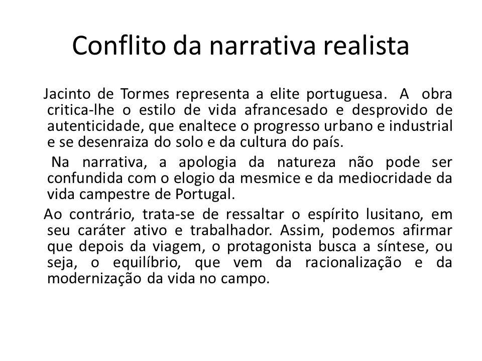 Conflito da narrativa realista