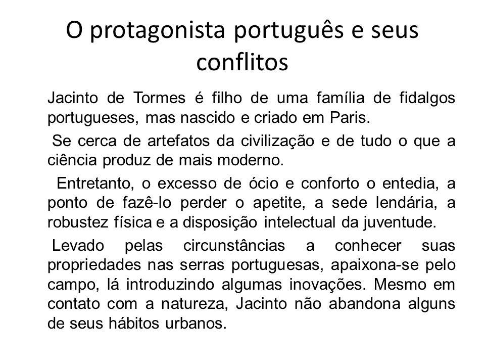 O protagonista português e seus conflitos