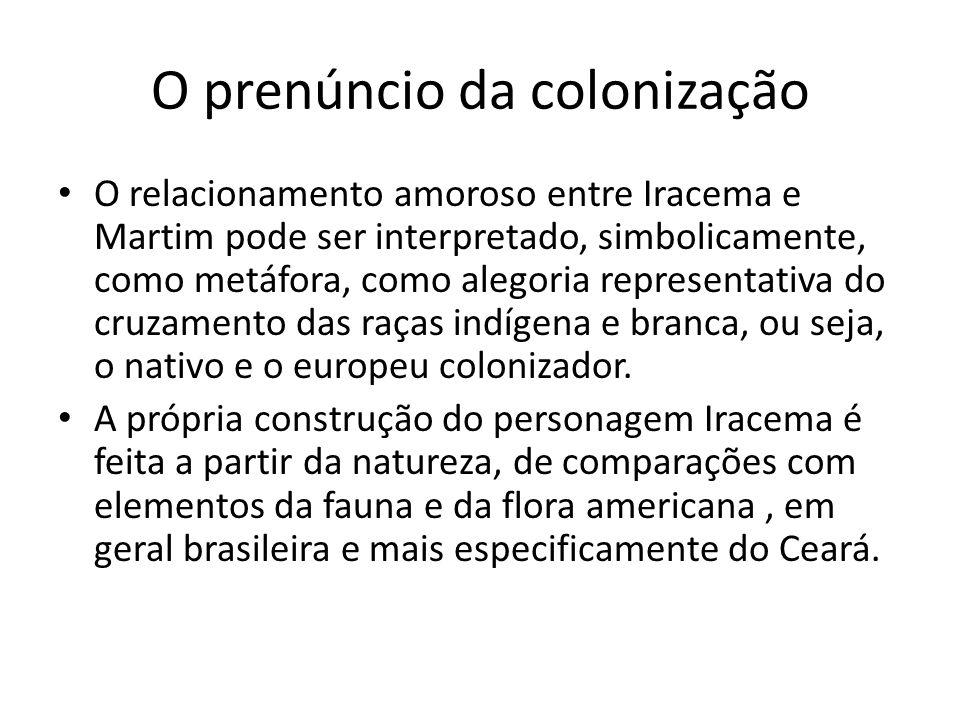 O prenúncio da colonização