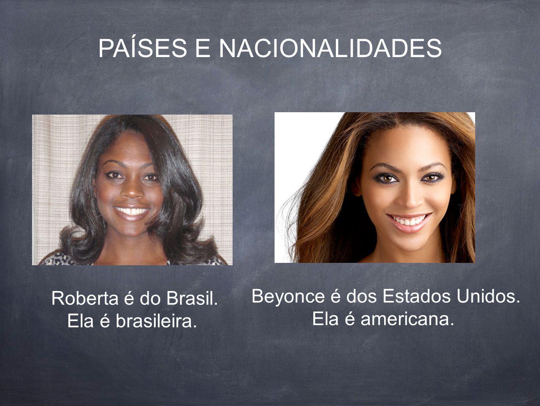 PAÍSES E NACIONALIDADES