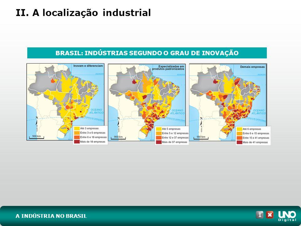 II. A localização industrial
