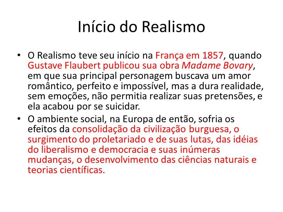 Início do Realismo