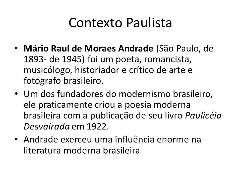 Contexto Paulista