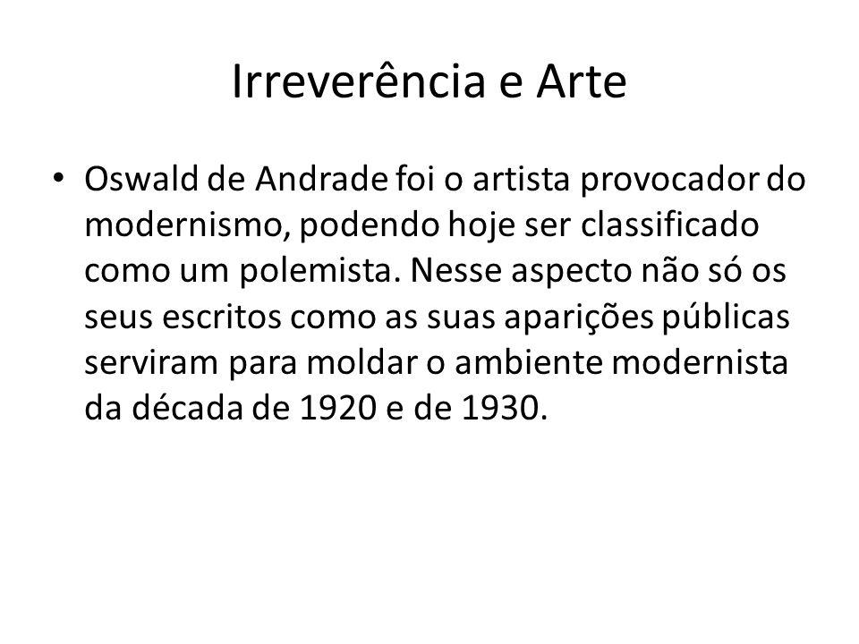 Irreverência e Arte